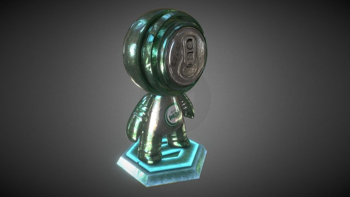 MeetMat Contest - BeerMat 3D Model