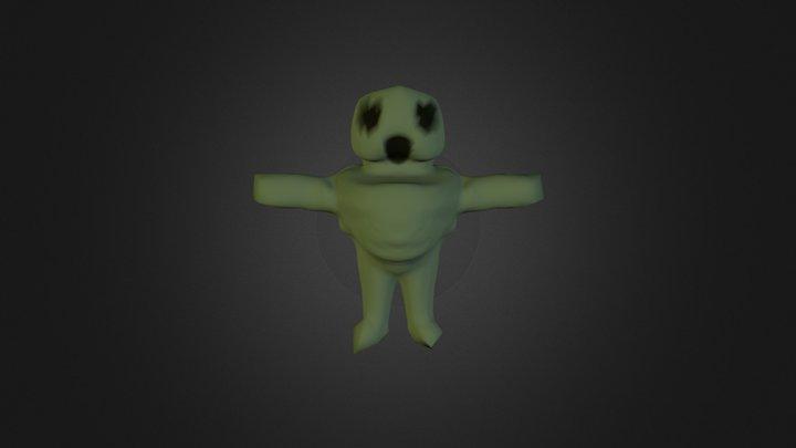 Squeezy Huggy (Prototype) 3D Model