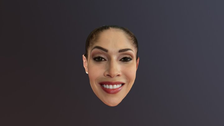 Bellus3d FaceApp iPhone X Female 3D Model