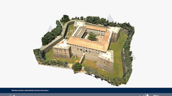 Fortezza Spagnola, XVI sec. L'Aquila 3D Model