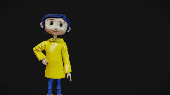 Coraline Jones 3D Model