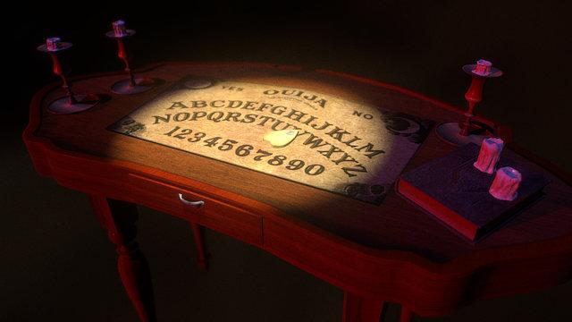 Ouija Table 3D Model