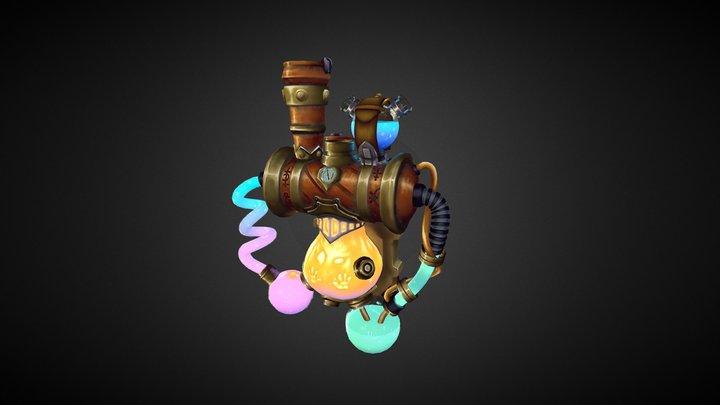 Alchemist Lab 3D Model