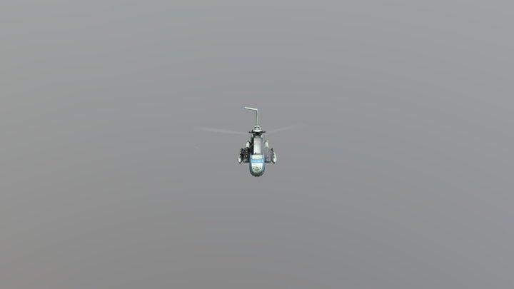HELICOBTER 3D Model