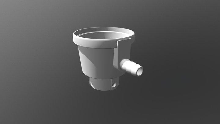 Regulador - Cuerpo Inyectado 3D Model