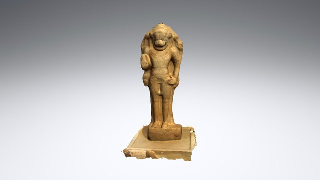 Figure of Narasimha - British Museum 3D Model