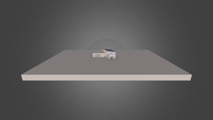 Maison Herblon- Herblon House 3D Model