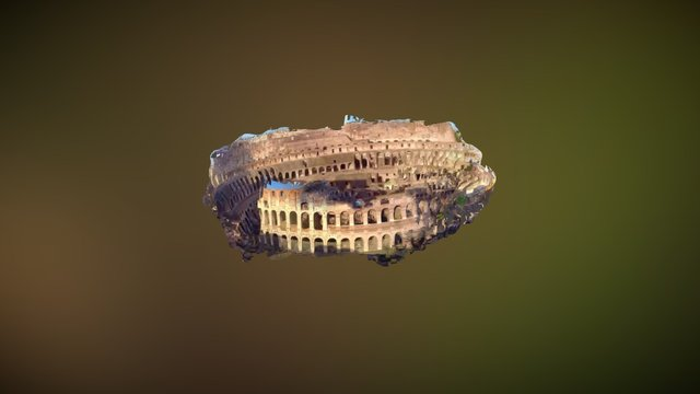 Colosseum of Drone 3D Model