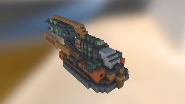 Space 07 3D Model
