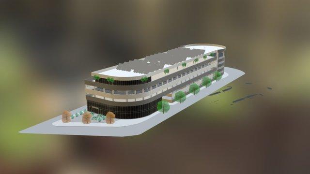 PUBLIC GARADGE 3D Model