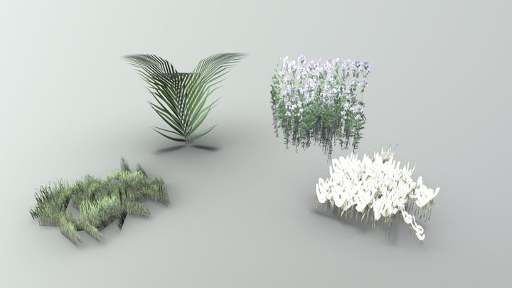 Foliage [Between Two Worlds] 3D Model