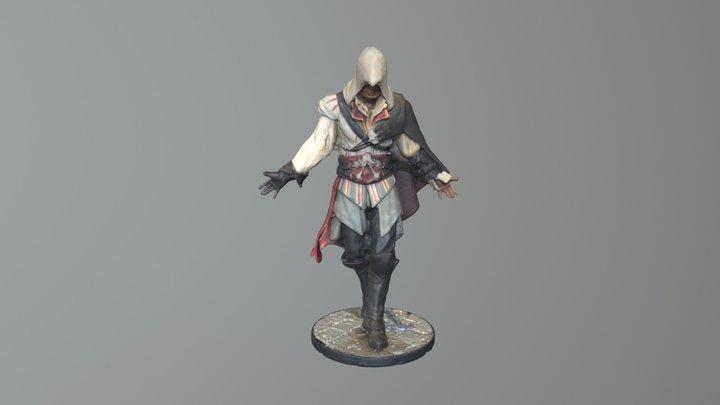 High-res Assassin Mesh 3D Model
