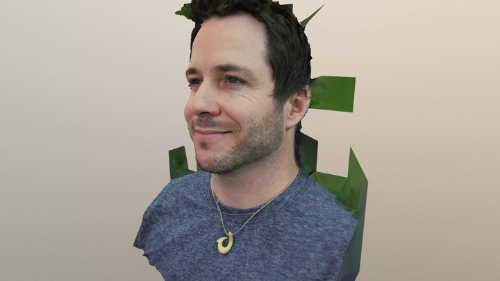 Sean McShane 3D Model