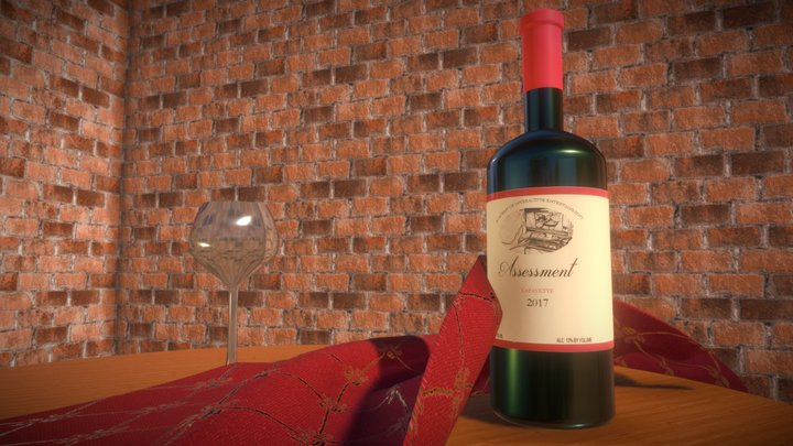 AIE - 3D Art Pipeline - Still Life 3D Model