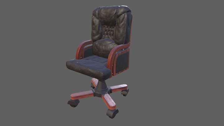 Doctor's Chair 3D Model