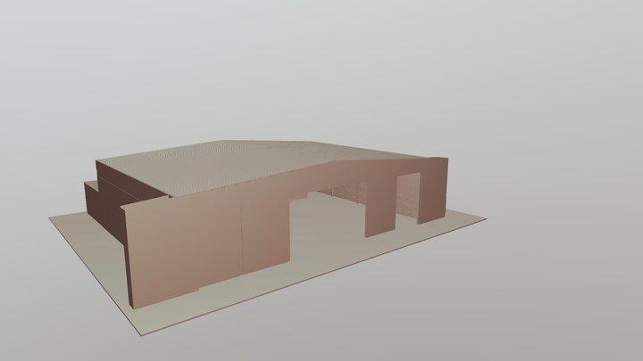 Rabigh Airport_3D Model 3D Model