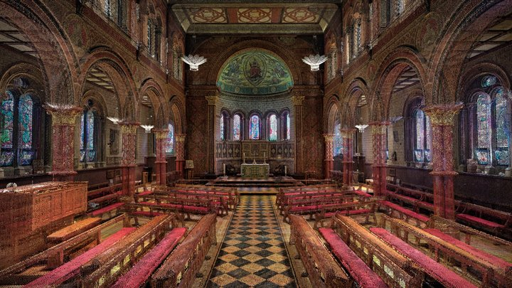 King's College London Chapel 3D Model