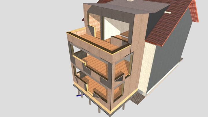Anbau München 3D Model