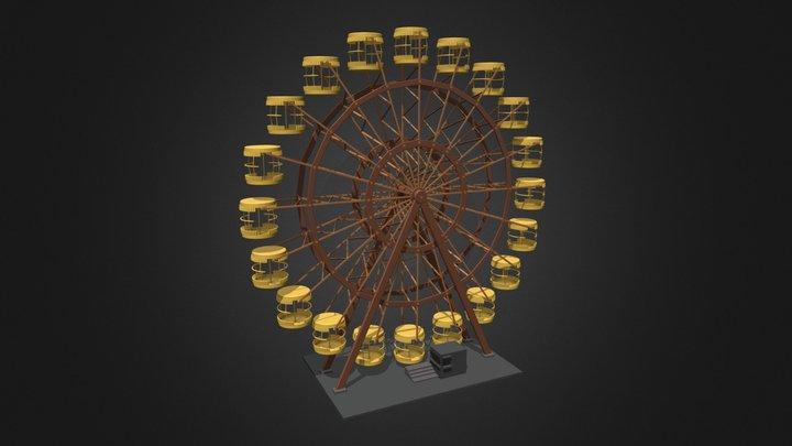 Pripyat's big Wheel (Chernobyl) [SchoolWork] 3D Model