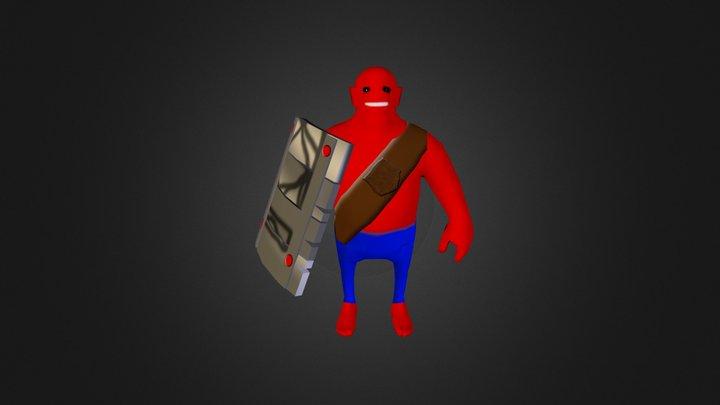The Monster  3D Model