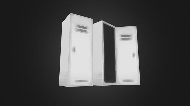 PSX era Lockers 3D Model