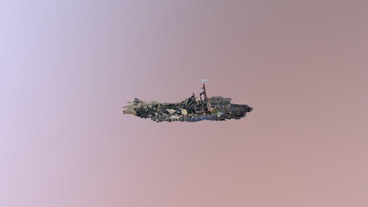 SS Gairloch Shipwreck-Taranaki, New Zealand 3D Model