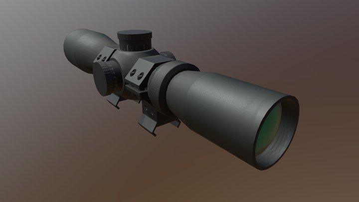Optical Sight 3D Model