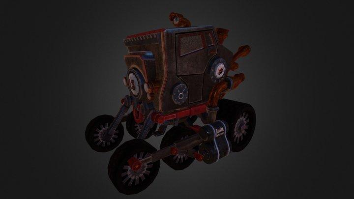 The Bull 3D Model