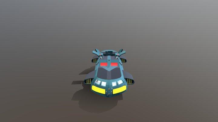 Metallikats Express 3D Model