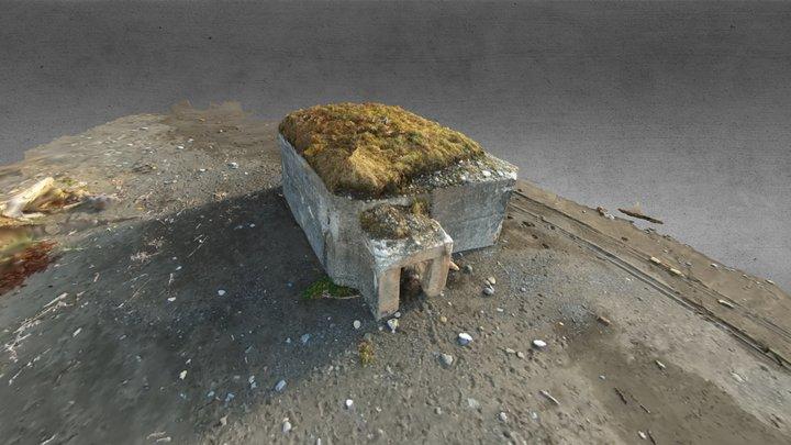 ASAHIHAMA PILLBOX 旭浜トーチカ/北海道大樹町 3D Model