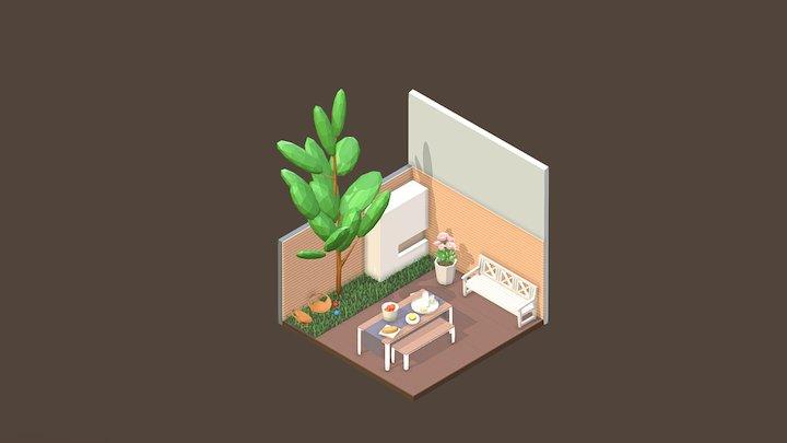 Room 14 / Blender 3D Model