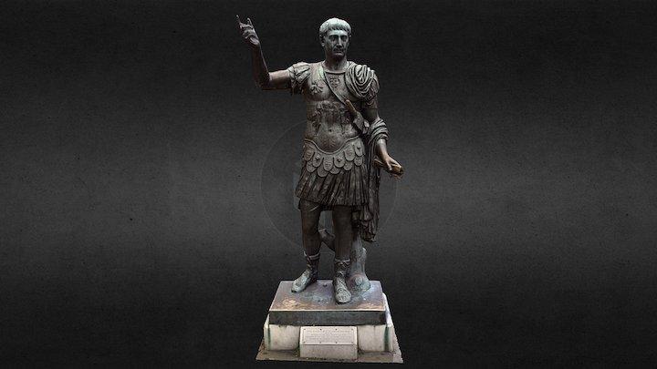 Statue of Emperor Trajan (Tower Hill, London) 3D Model
