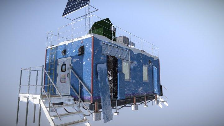 Arctic Base Unit 3D Model