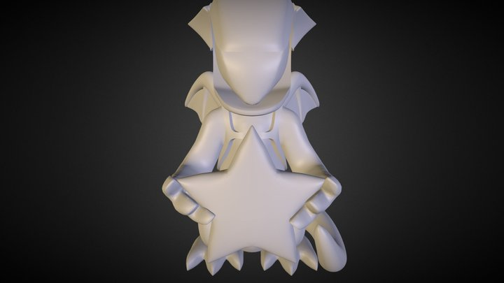 Space Dragon 3D Model
