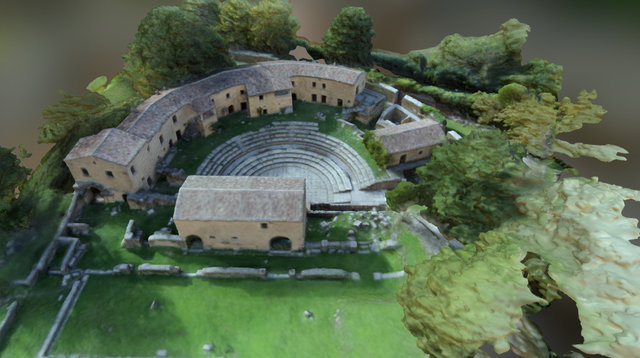 Theatre of Altilia 3D Model