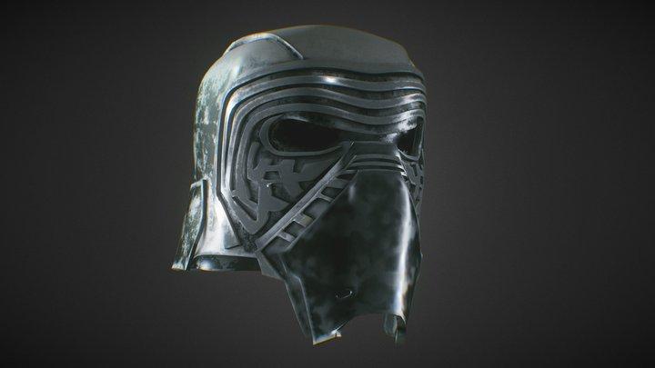 Kylo Ren - Helmet 3D Model