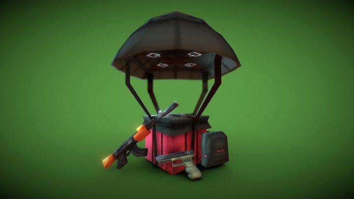 little Pubg 01 3D Model