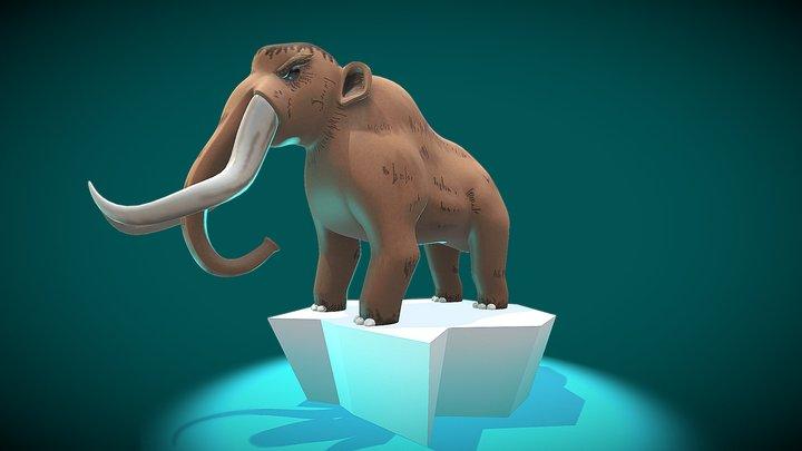 Mastodon 3D Model