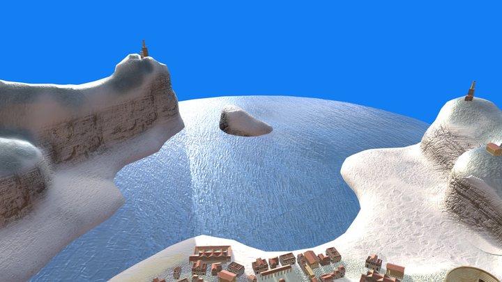 Roman Town (WIP) 3D Model
