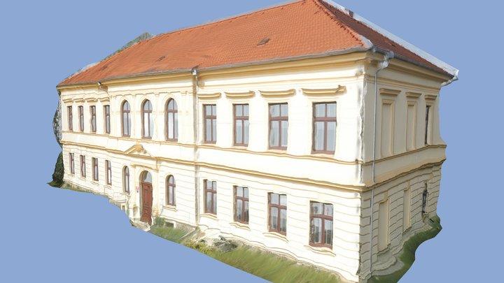 School in Prague, Řeporyje 3D Model