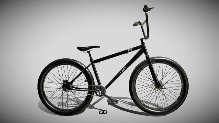 bmx bike T29 3D Model