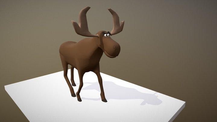 Elk 3D Model