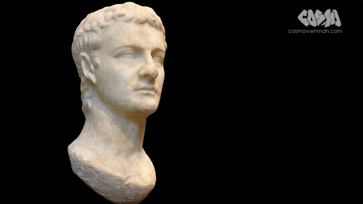 The Getty Caligula 3D Model