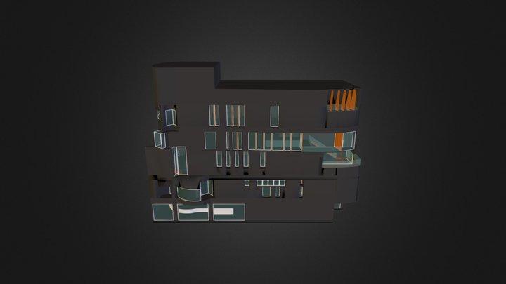 Biblioteca Vila De Gracia 3D Model