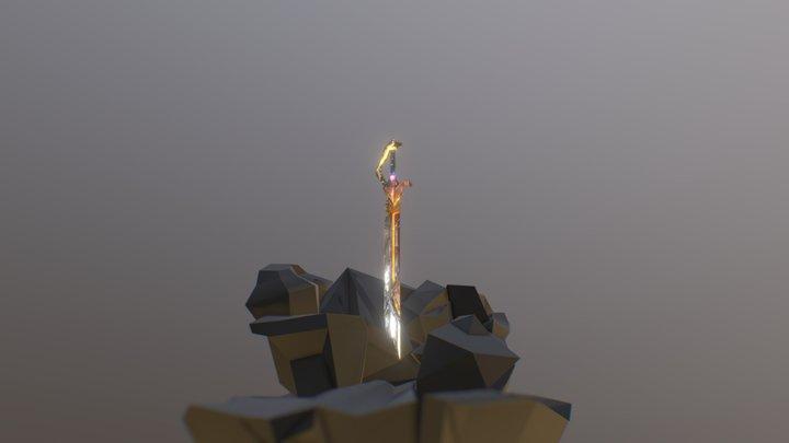 Epic Sword 3D Model