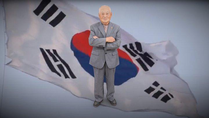 전북동부보훈지청 6.25 70주년 최종열 참전용사님 3D Model