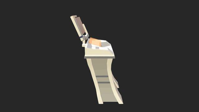 Mass Effect Console 3D Model
