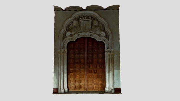 Puerta Aljafería 3D Model