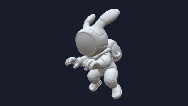 Rabbit Rabbit 3D Model