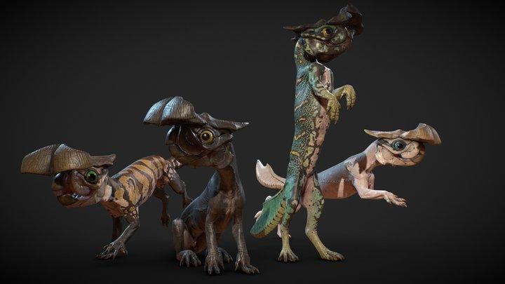 Alien Rodent 3D Model